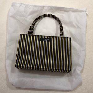 Vintage striped Kate Spade satin mini bag
